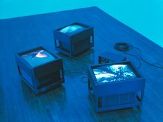 artset:  Moonlight Blue Room (the sky is unfolding under you) by Diana Thater.