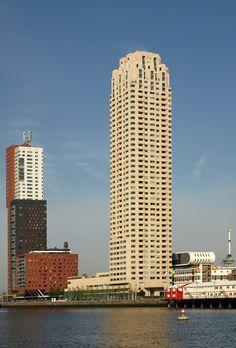 New Orleans, Rotterdam-Netherland, 158.4 m, completion-2010, architect-Alvaro Siza;HM ADP Architectuur
