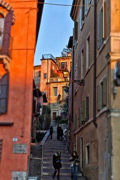 scalinata a Santo Stefano