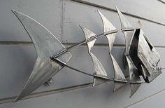 Metal Fish Sculpture