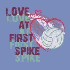 love at first spike .. JAJAJAJA :)