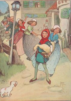Original Mabel Lucie Attwell Print 1915