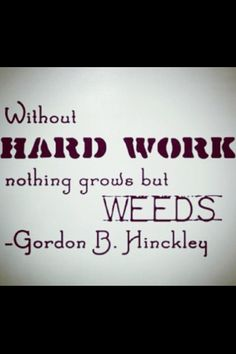 Best Work Quotes: QUOTATION – Image : Quotes Of the day – Description Mormon Stuff – Yeah! you have a yard full of weeds or a garden full of roses? Mormon Quotes, Lds Quotes, Quotable Quotes, Inspirational Quotes, Lds Mormon, Good Work Quotes, Great Quotes, Quotes To Live By, Cool Words