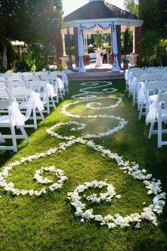 31 ideas extremadamente románticas para una boda