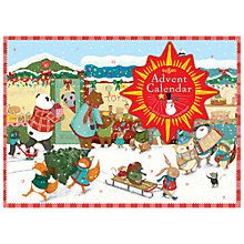 Buy Eeboo Animal Village Advent Calendar Online at johnlewis.com