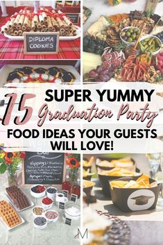 Want to host the graduation party of a lifetime? Don't forget to add one of these 15 insanely creative (and delicious) graduation party food ideas! College Freshman Tips, Disney College, College Hacks, Scholarships For College, Graduation Party Foods, College Graduation Parties, College Survival Guide, College Necessities, College Graduation Pictures