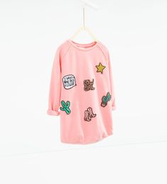 Patch dress-View All-DRESSES AND JUMPSUITS-GIRL | 4-14 years-KIDS | ZARA United States