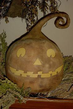 Primitive Jack O' Lantern Pumpkin Pattern