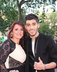 Zayn and his mum :)