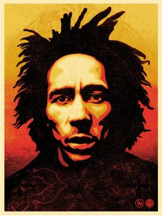 Bob Marley - Shepard Fairey