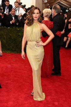 Gala MET '15 - Kate Beckinsale (Diane Fustenberg)