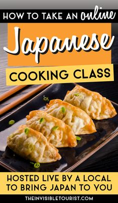 Want to take a Japanese cooking class but can't get to Japan? Bring Japan to you with online cooking classes hosted by locals in Japan! Learn to cook traditional Japanese dishes at home with this selection of authentic classes. Find out what to expect during my gyoza cooking class hosted live online and how you can book, too! The Invisible Tourist | Japanese Food | Japanese Cuisine | Tokyo Cooking Class | Japan | Cooking Class Japan Japan Travel Guide, Asia Travel, Time Travel, Travel Guides, Travel Tips, Travel Destinations, Japanese Dishes, Japanese Food, Online Cooking Classes