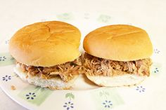 My favorite slow-cooked pulled pork recipe. It comes with a complete tutorial, very helpful--and delicious!!