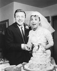 The Eydie Gorme and Steve Lawrence wedding at the El Rancho Hotel and Casino in Las Vegas December Eydie Gorme died August 2013 in Las Vegas at the age of (Photo/Las Vegas News Bureau Archives)------married Celebrity Couples, Celebrity Weddings, Celebrity Pics, Eydie Gorme, Old Hollywood Stars, Hollywood Icons, Famous Couples, Happy Couples, Las Vegas Photos