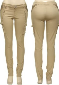 ROMEO & JULIET COUTURE Stretch Pintuck Cargo Skinny [RJ23357],$15.00