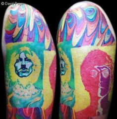 David Page - Beatles Tattoo