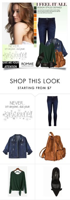 """""""Untitled #1522"""" by kriz-nambikatt on Polyvore featuring Wall Pops!, Levi's, Yves Saint Laurent and Nly Shoes"""
