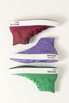 Quiero mi zapato con mi Pantone favorito ;)