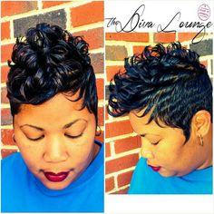 The Diva Lounge Hair Salon Montgomery, AL Larnetta Moncrief,  Owner / Stylist