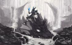 TESV:SKYRIM The Daedric one by Shiro169