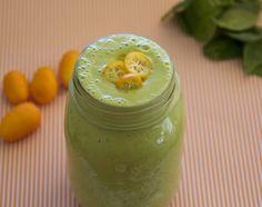Kumquat Apple Green Smoothie