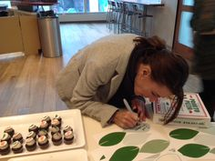 Green Pledges & Celebrating reducing our Carbon Footprint at our NYC office!