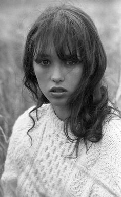 Isabelle Adjani, definition of flawless. #bangs #isabelleadjani