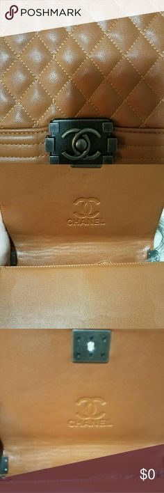 Bag chanel like it Bag whit chain camel like brand new its the same material, don't ask if already purchased some Chanel AUT bag chanel Bags