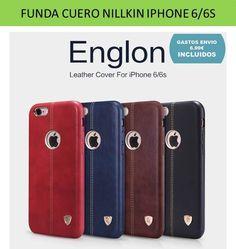 8cfa3f3e022 Fundas y carcasas de cuero iPhone 6 bonitas y baratas NillKin - Tienda  fundas móviles: Fundas iPhone 6 - Tienda online YOUGAMETRONICA