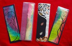 Hand made bookmarks by rocamora on Etsy, £3.20