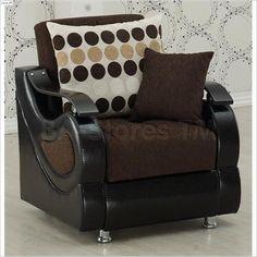 Illinois Convertible Chair-Sleeper