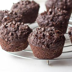 Made from coconut flour, these moist, low carb double Chocolate Zucchini Muffins are a healthy & safe snack for school lunches & the perfect keto treat.