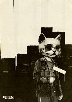 Roller Cat by hiddenmoves.deviantart.com on @deviantART