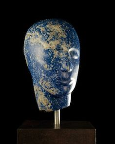 Lapis Lazuli Girl - Emily Young, Bowman Sculpture Ltd