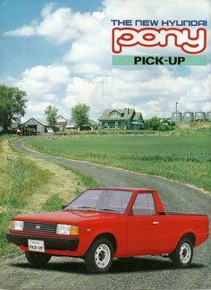 Hyundai Pony Pick Up Truck