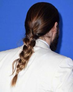 Golden Globes 2015 #manbraid #JaredLeto