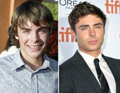 Zac Efron  Who would have thought the 17-year-old Summerland actor would become the stud he is today?!