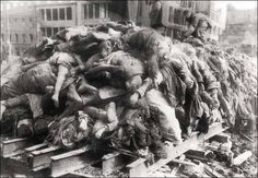 1945: GERMANY. Britain and the United States commit one of the most gruesome war crimes of the Second World War when they firebomb the German city of Dresden, crammed with hundreds of thousands of refugees. The few legitimate military targets in or near Dresden, including a vital railway bridge, are not targeted. The bombing creates a firestorm, literally a holocaust, which destroys thirteen square miles of the historical core of the city and kills at least twenty five thousand civilians. So...