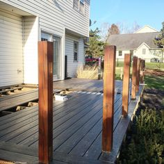 Lowe's Composite Deck by Tropics is a beautiful low-maintenance product that is easy to install. See our beautiful new tropics deck and instructions how to install yours! Deck Stairs, Composite Decking, Backyard, Patio, Building A Deck, Deck Design, Lowes, Composition, Porch Designs