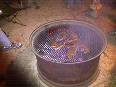 Tractor Wheel Rim for Fire Pit and Grill | Recipes & Cooking - Cleaning & Preparation | Texas Hunting Forum