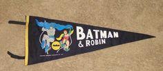 1966 Batman Robin Vintage Pennant Nice | eBay