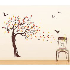 You'll love the Beautiful Tree and Birds Wall Decal at Wayfair - Great Deals on all Décor  products with Free Shipping on most stuff, even the big stuff.