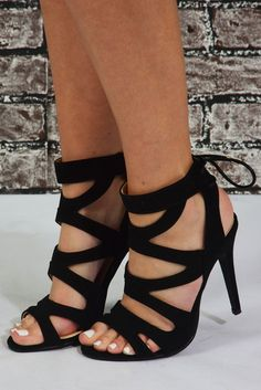 Dance The Night Away Heels: Black