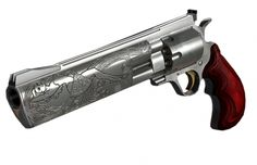 Dan Wesson revolver. This is a work of art!