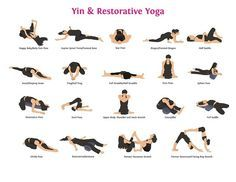Yin and restorative yoga can benefit both your mental and physical health # http: