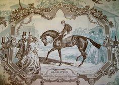 Equestrian Toile