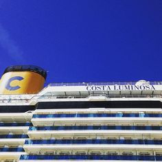 Costa Luminosa on her Around-the-World cruise