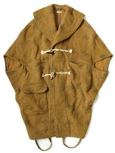 KAPITAL - Wool Duffle Coat - K1511LJ238 GOLD - H. Lorenzo