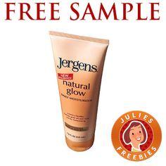 Free Sample of Jergens Natural Glow