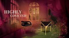 The modern edge in CHANDRA chair exudes the feeling of vintage glam. #лимитированная серия #мебель класса люкс